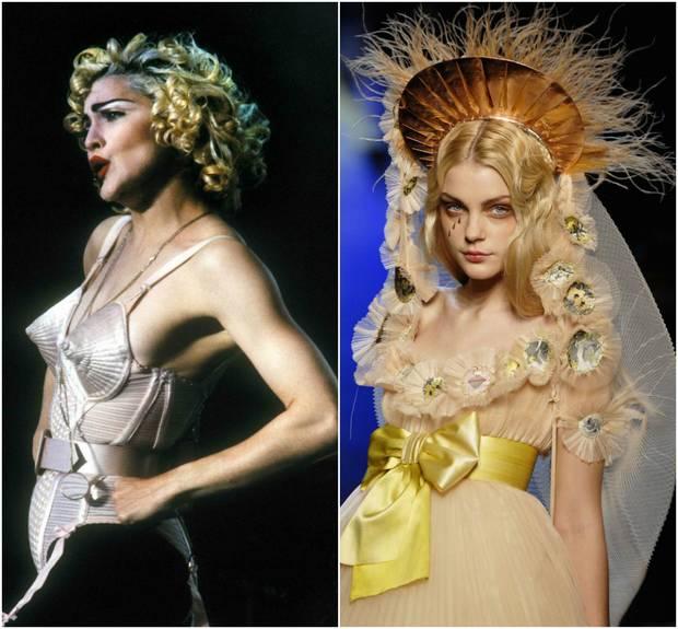 religion y moda madonna