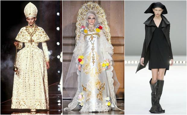 religion y moda Galliano Lacroix Owens