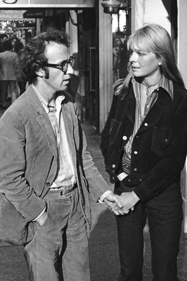 Diane Keaton y Woody Allen en 1977