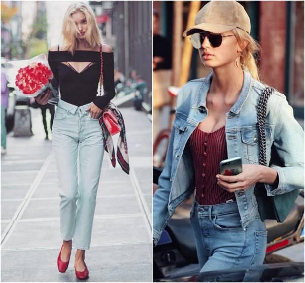 Las modelos Elsa Hosk y Romee Strijd son clientas de Elizabeth Sulcer. Imágenes: Instagram.