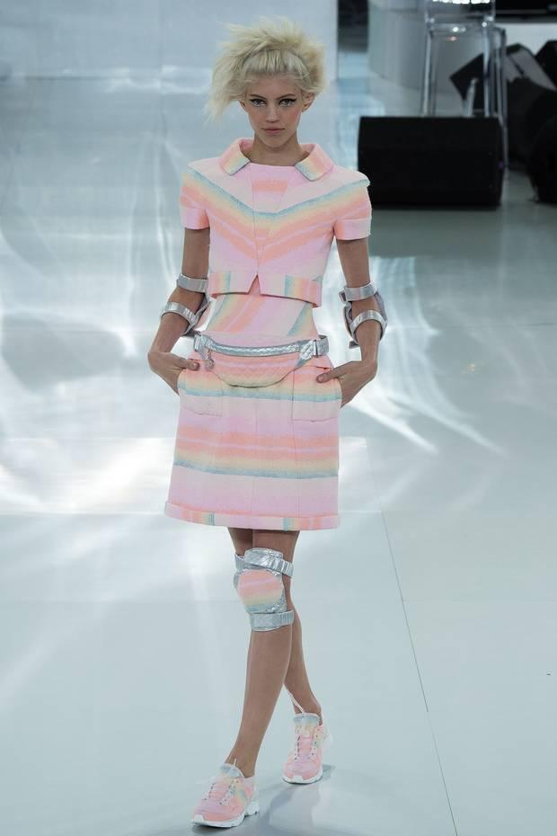 Look de la colección Alta Costura primavera-verano 2014 de Chanel