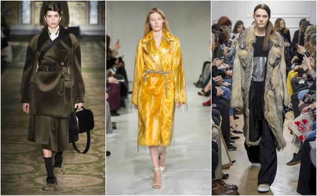 Looks pertenecientes a las colecciones otoño-invierno 2017 de Simone Roche, Calvin Klein y JW Anderson.