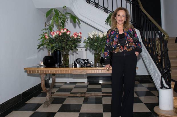 Aida Furmanski, Embajadora de Colombia en España y promotora e impulsora de Latin Curated.