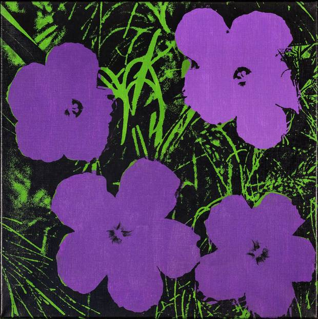 Flowers, c.1965 © Andy Warhol