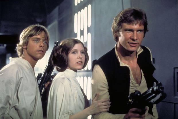 """Fotograma de """"Star Wars: Episodio IV – Una nueva esperanza"""" (1977)"""