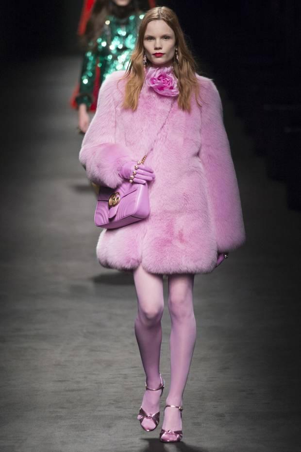 Look de la colección otoño-invierno 2016 de Gucci