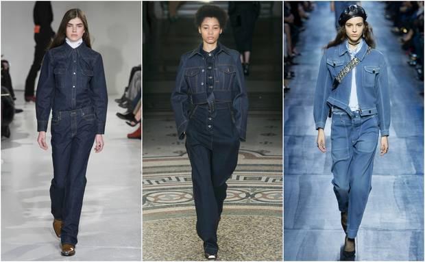 Looks de las colecciones otoño-invierno 2017 de Calvin Klein, Stella McCartney y Dior