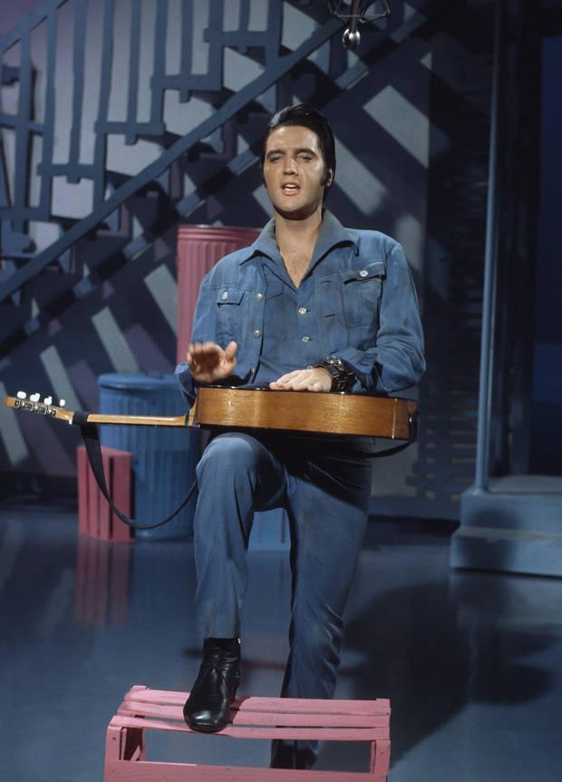 Elvis Presley en 1957