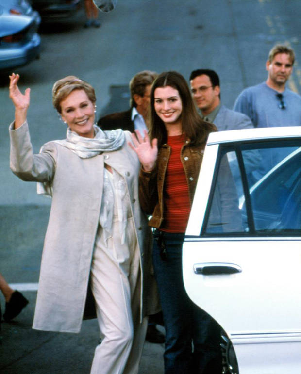 """Fotograma de la película """"Princesa por sorpresa"""" (2001)"""