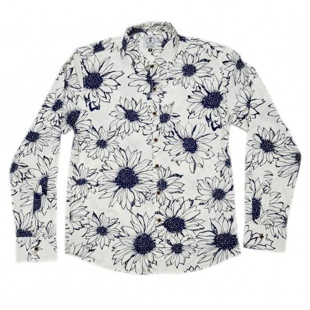 regalos camisa-ilustracion-flor