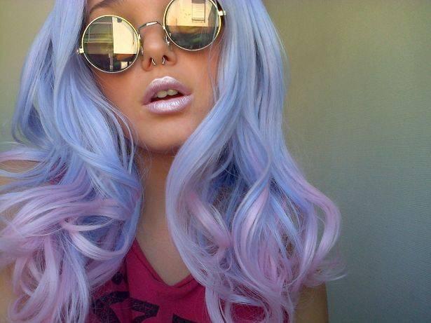 violeta peinados