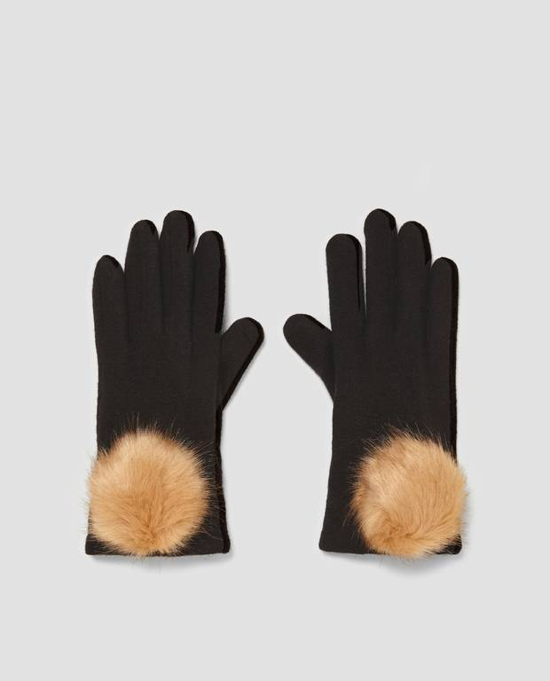 guantes ZARA