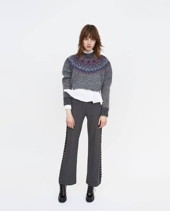 pantalon a rayas zara rebajas (9,9)