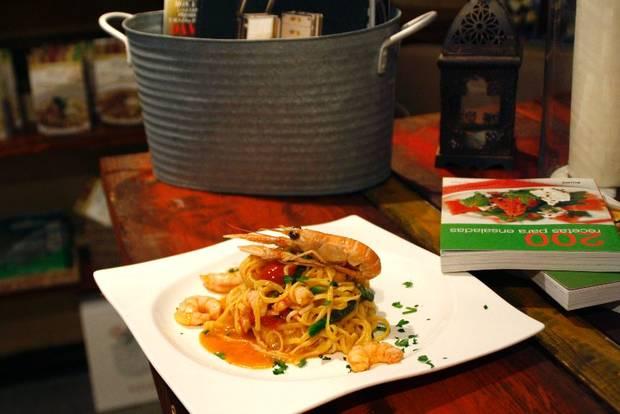 Spaguetti frutti di mare_TRattoria SantArcangelo (2)
