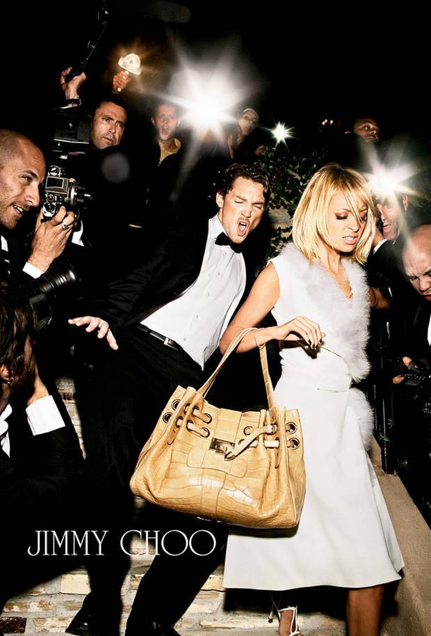 Campaña de 2006 de Jimmy Choo, con Nicole Richie