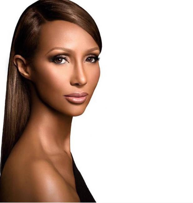 modelo belleza Iman - Vanidad - 6