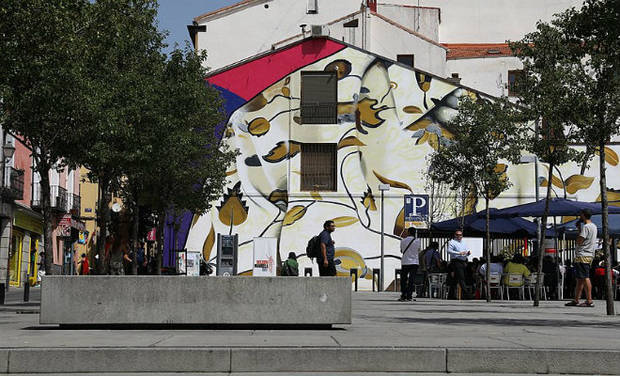 Mural en Lavapiés