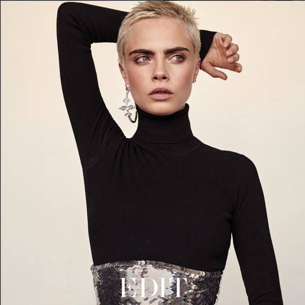 pixie CARA DELEVINGNE THE EDIT - VANIDAD - 1