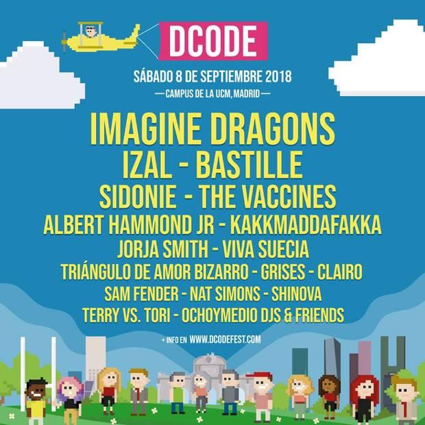 festivales cartel dcode 2018
