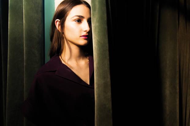 Total look Hermès y pendientes de Christian Dior