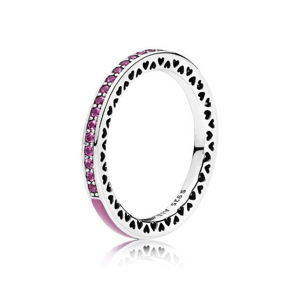 pink power anillo Pandora