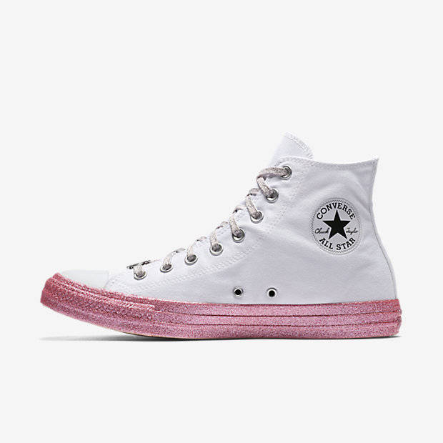 pink power Converse Miley Cyrus