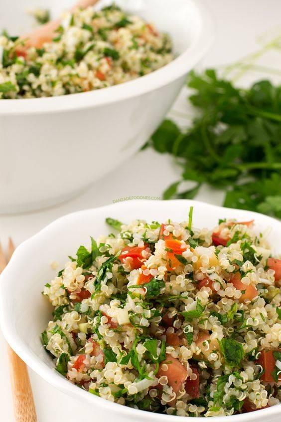 foodie vanidad tabule quinoa
