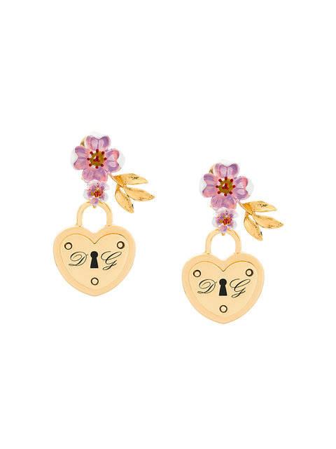 pendientes de flores Dolce & Gabbana
