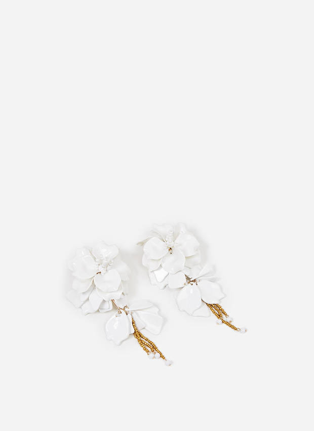 pendientes de flores Uterque