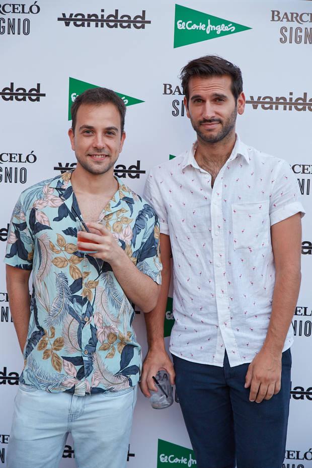 Juan Arcones y amigo