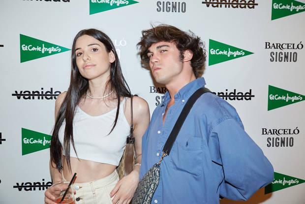 Sergio Corredor y amiga