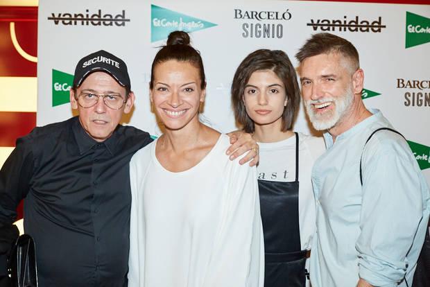 Fran Marto, Marta Ortega, Nuria Rothschild y Jose Carlos de la Osa