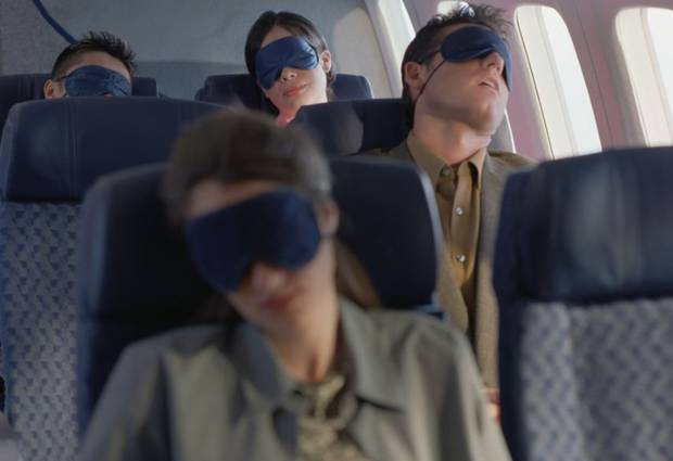 dormir avion