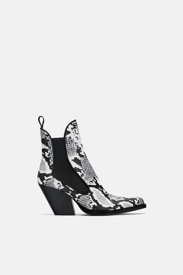 botas cowboy zara