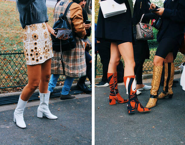 street style paris 2018 botas