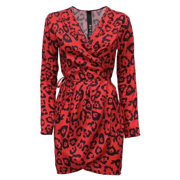 webs vestido rojo