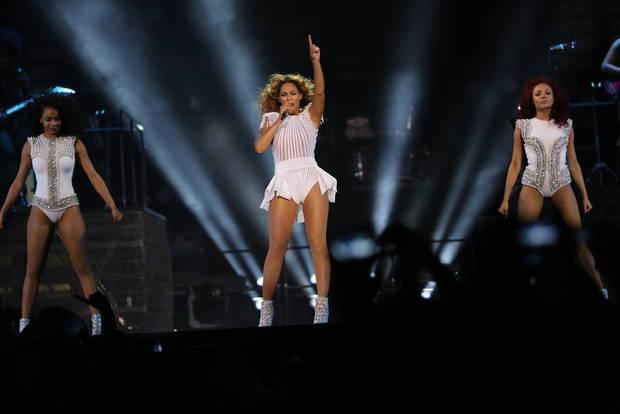 Primera canción de Beyoncé sobre el escenario de Birmingham