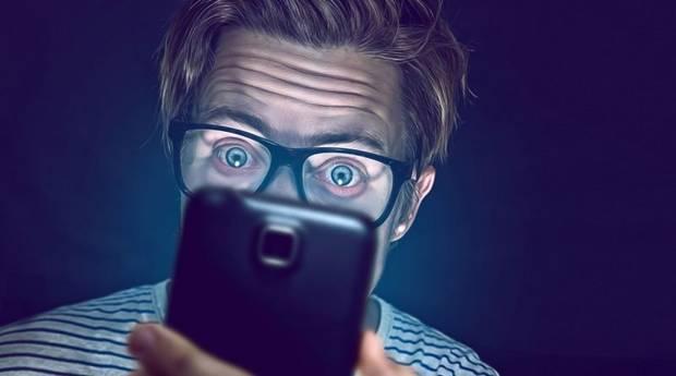 luz azul piel gafas