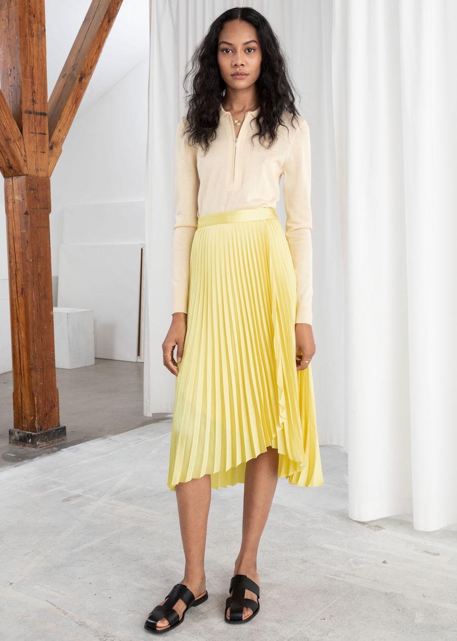 067109df1 La falda plisada, el must más elegante de esta temporada | Vanidad
