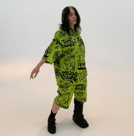 La Colaboración De Billie Eilish Con Freak City Te