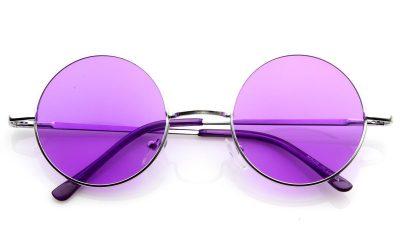 verano gafas moradas