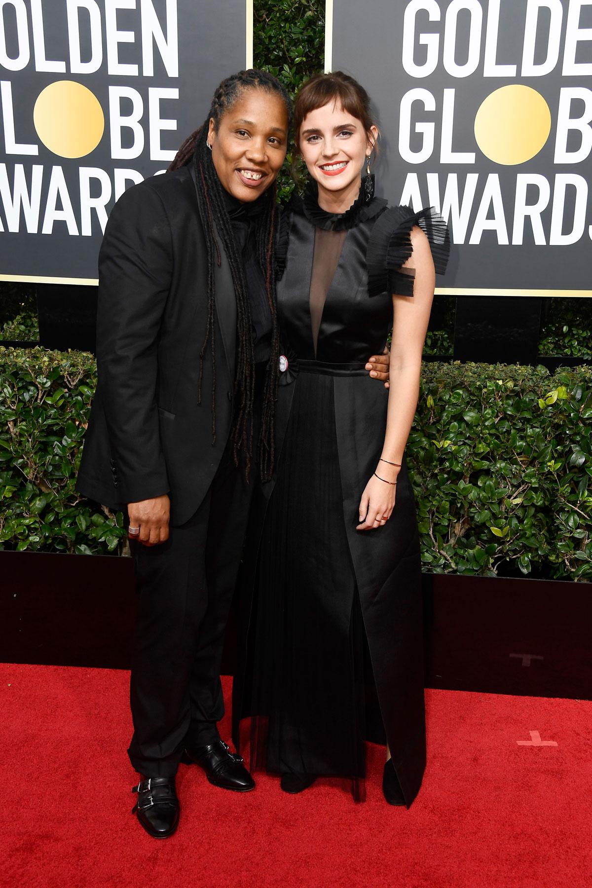 La subasta benéfica de los vestidos de Hollywood en favor de Time's Up - image globos_de_oro_2018_emma_watson on https://www.vanidad.es