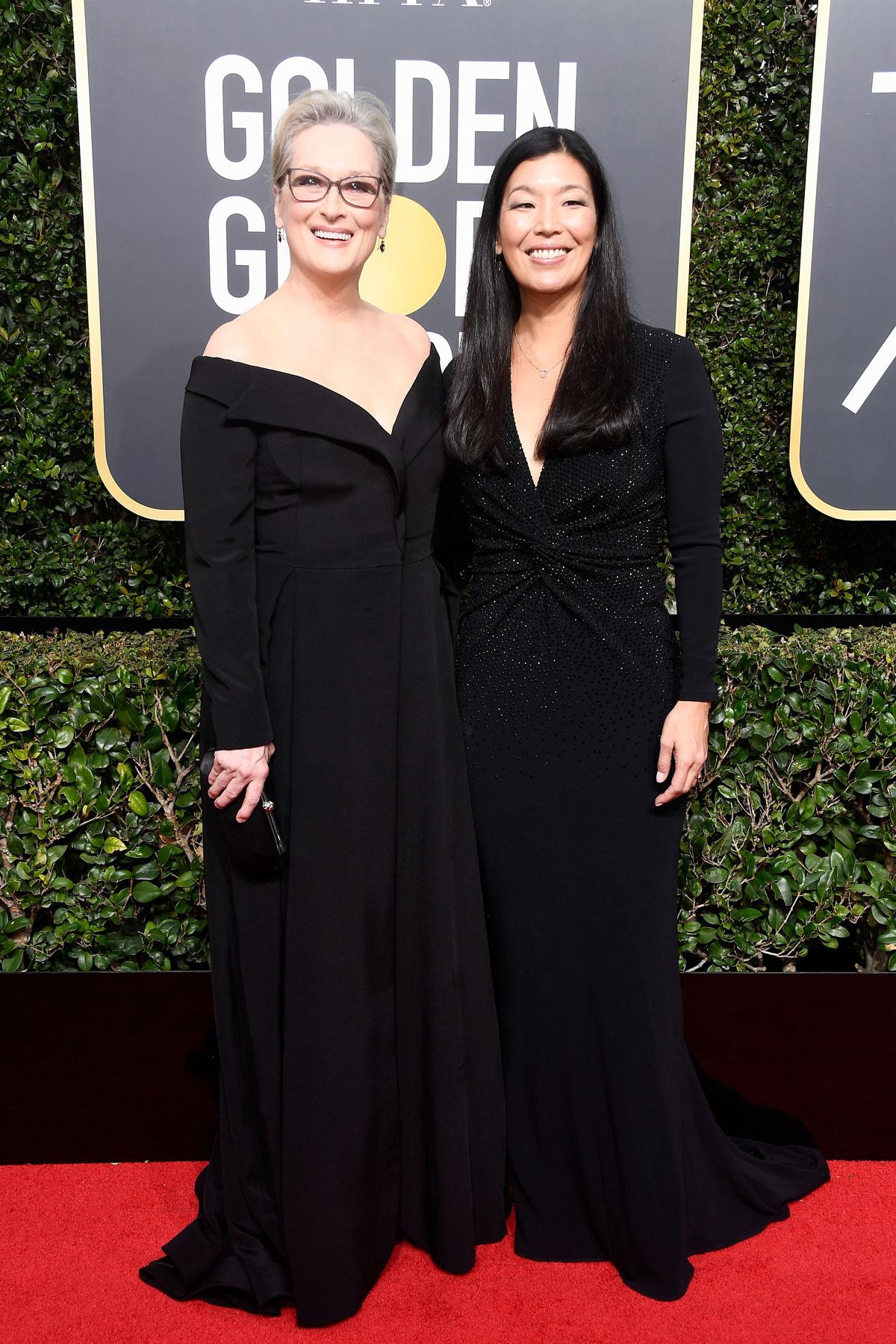 La subasta benéfica de los vestidos de Hollywood en favor de Time's Up - image globos_de_oro_2018_meryl_streep on https://www.vanidad.es