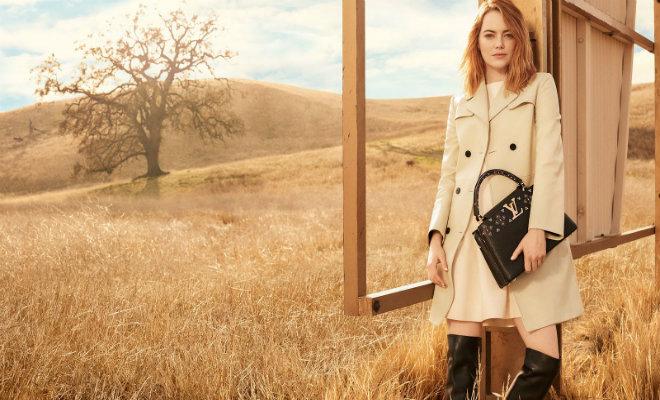 Emma Stone y Louis Vuitton