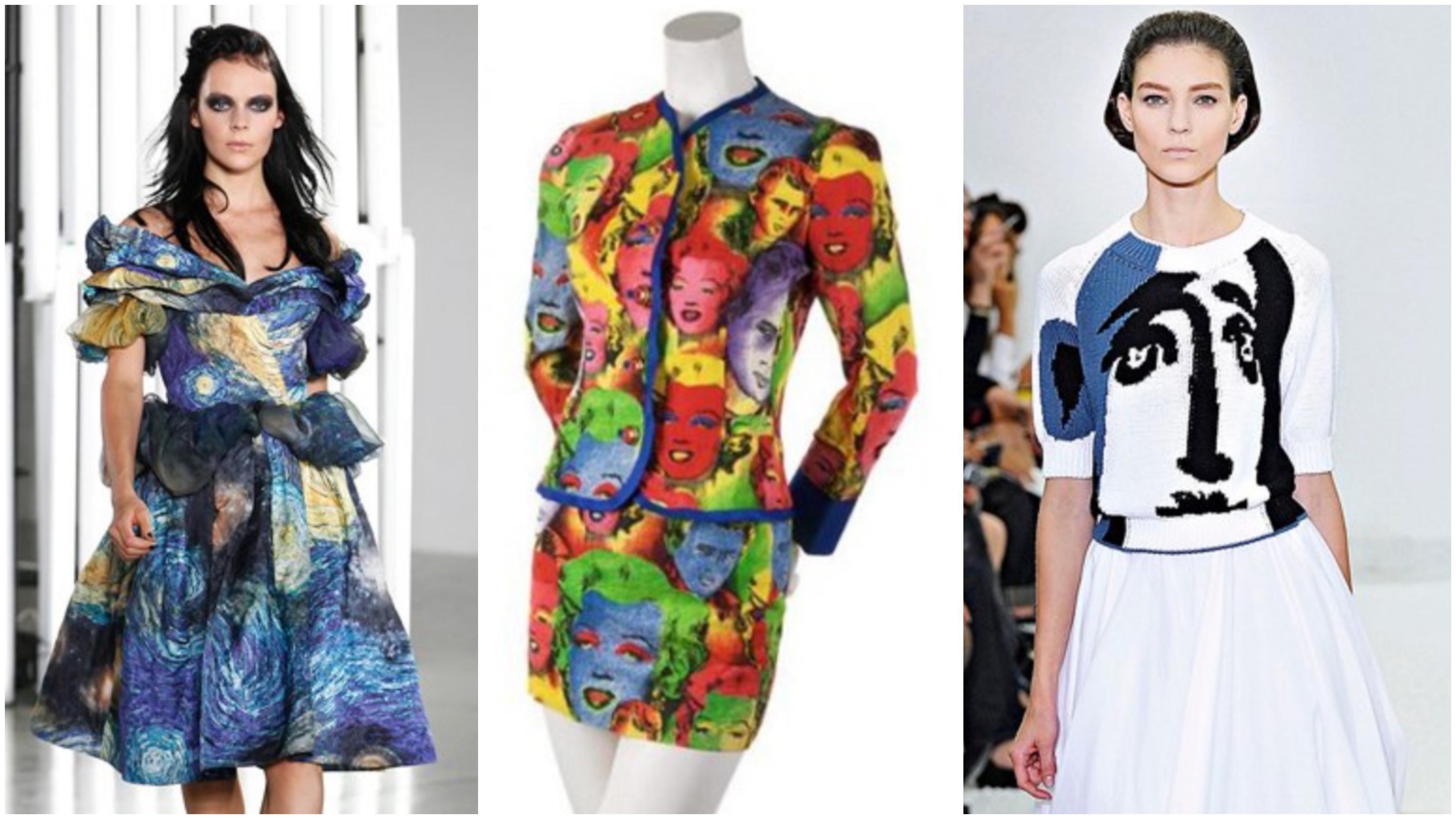 No hay moda sin arte ni arte sin moda. Y éstas son sus grandes colaboraciones - image artists on https://www.vanidad.es