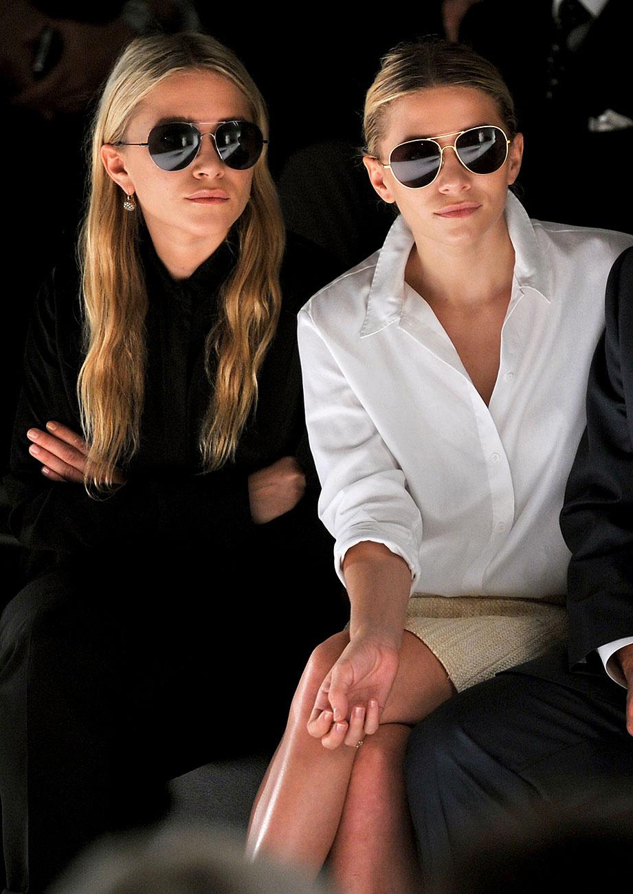Lecciones de estilo que aprendimos de las gemelas Olsen - image olsen-gafas-vanidad on https://www.vanidad.es
