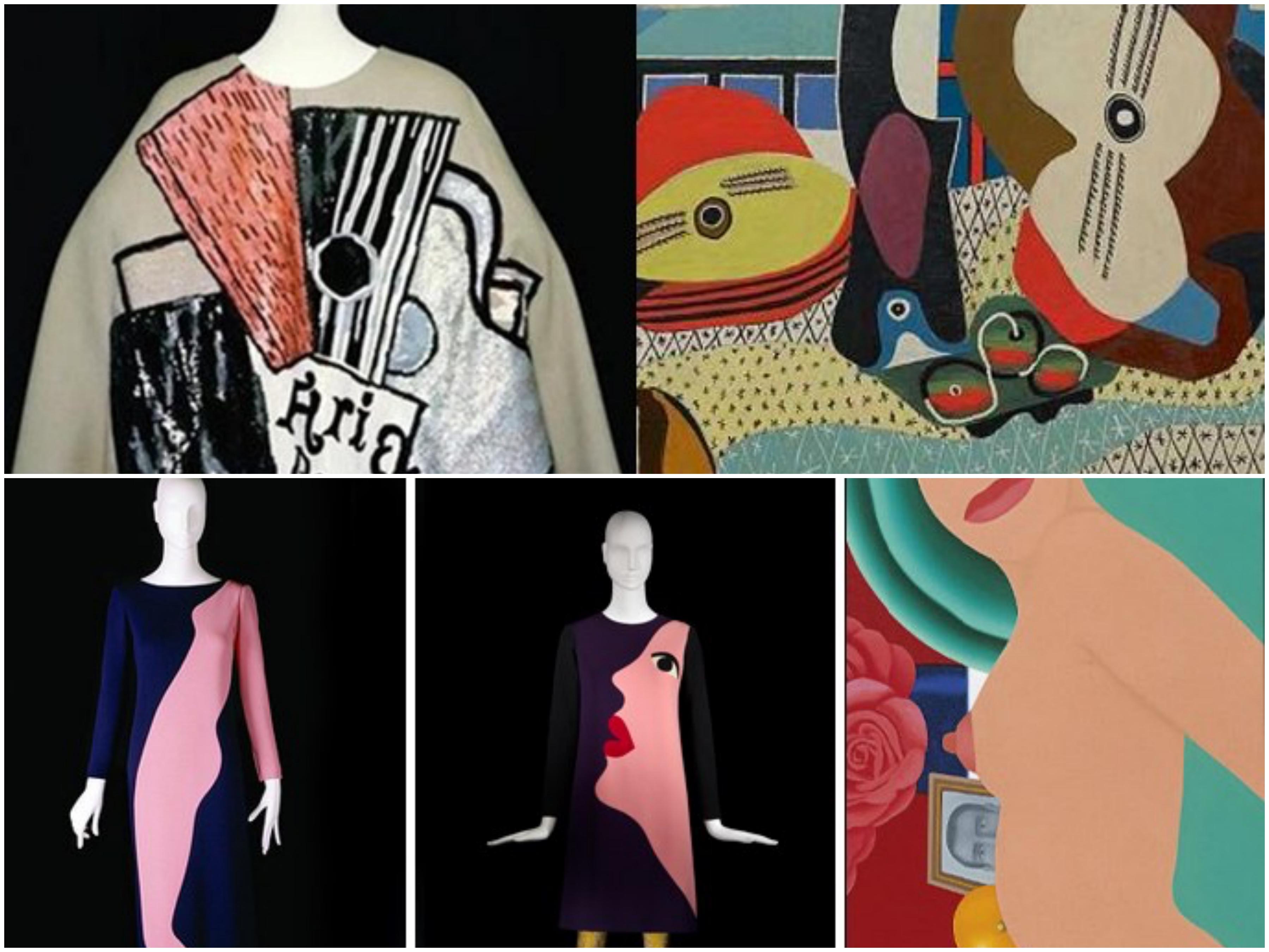 No hay moda sin arte ni arte sin moda. Y éstas son sus grandes colaboraciones - image ysl-picasso on https://www.vanidad.es
