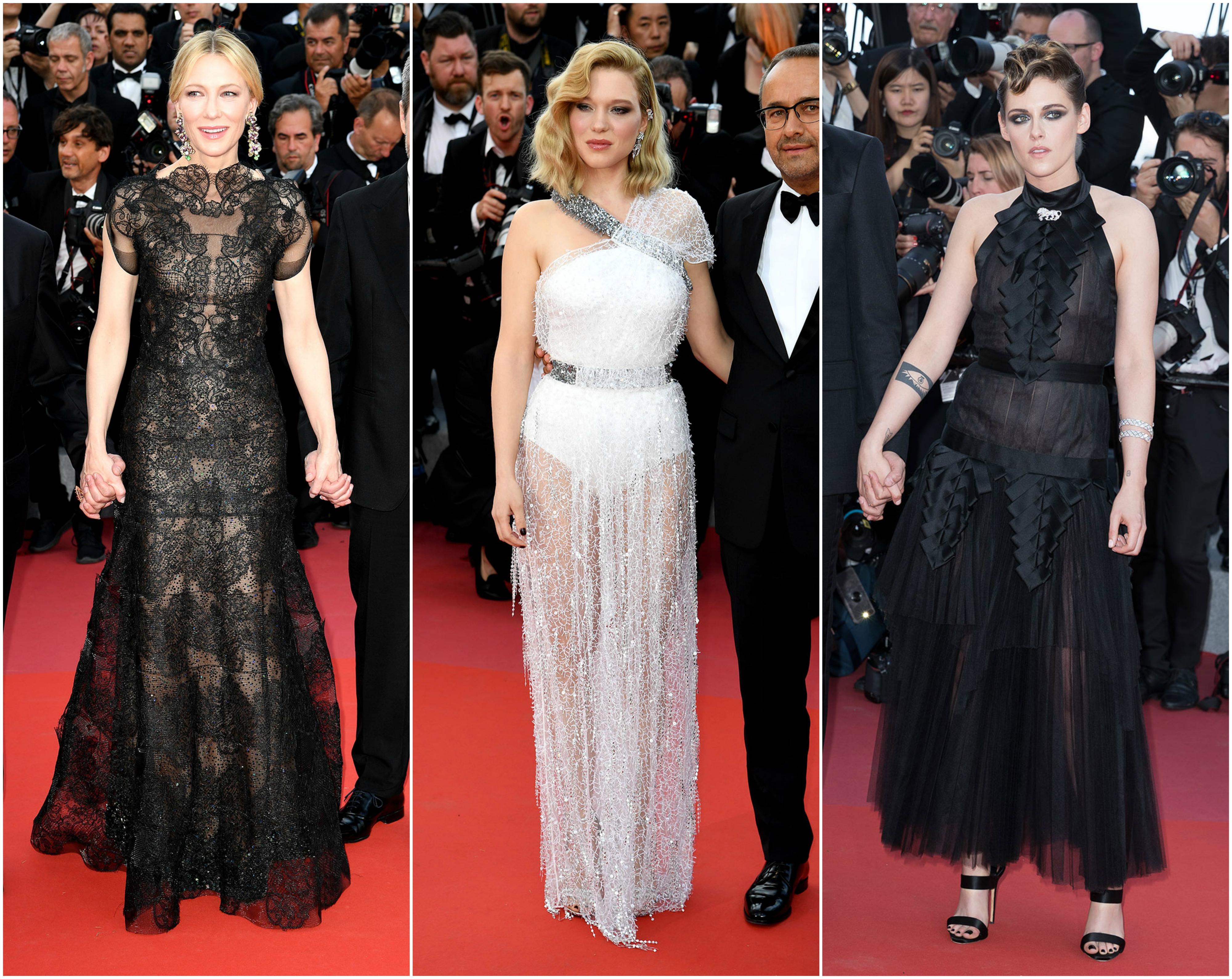 Cannes 2018. Aquí están los primeros lookazos de la alfombra roja - image collage2-cannes-vanidad on https://www.vanidad.es