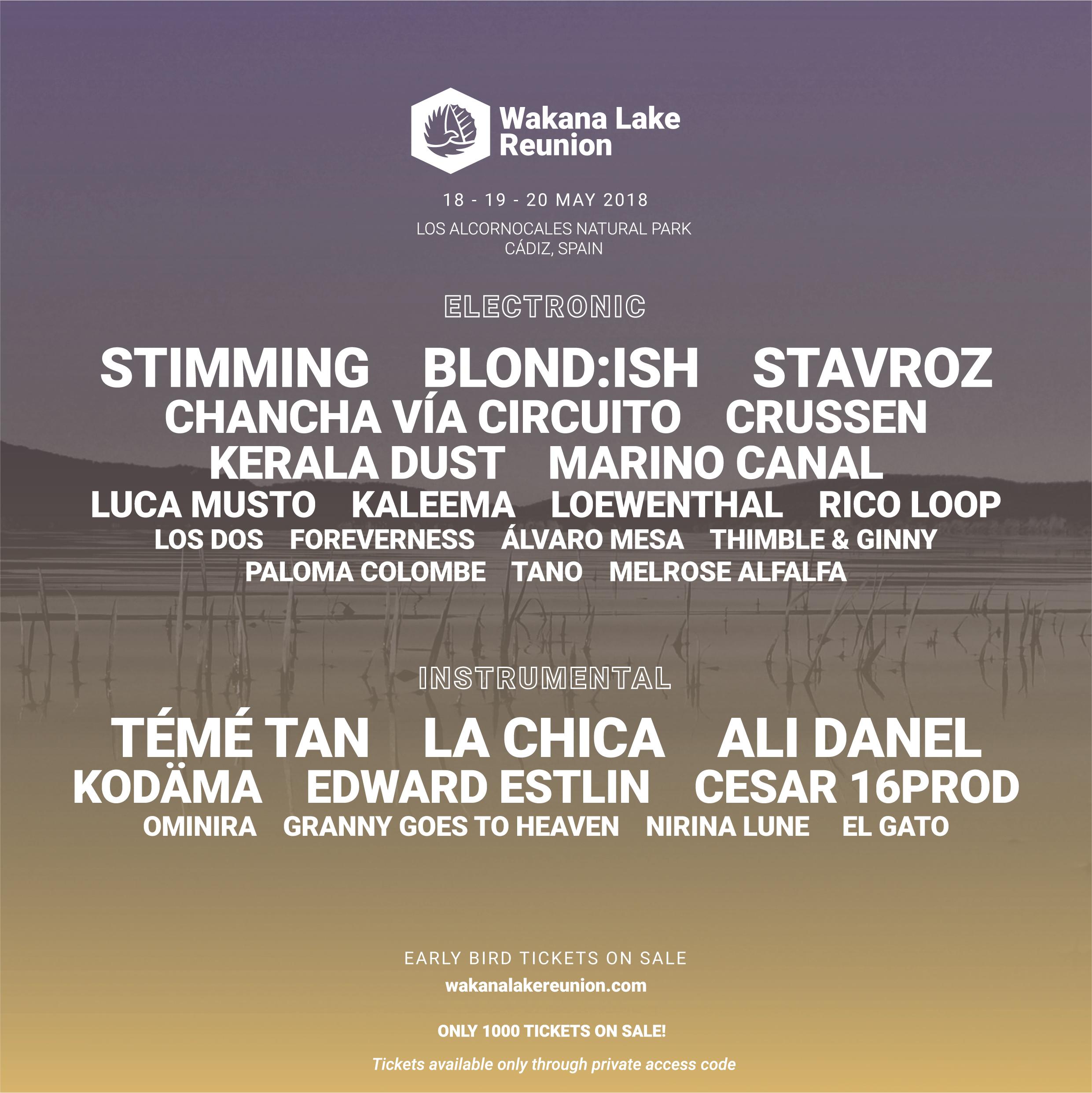 festivales CARTEL WAKANA LAKE REUNION