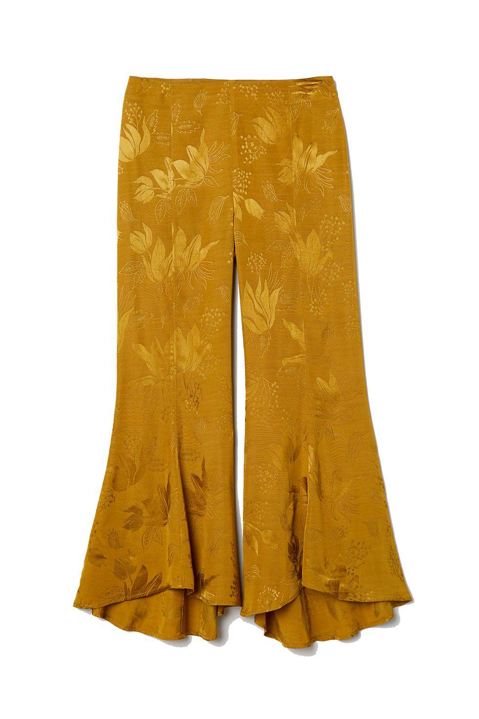pantalón de tiro alto H&M